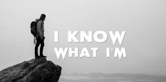I-know-what-I-am.-Inspirational-Quote-lonely-man-edge-rock-mountain
