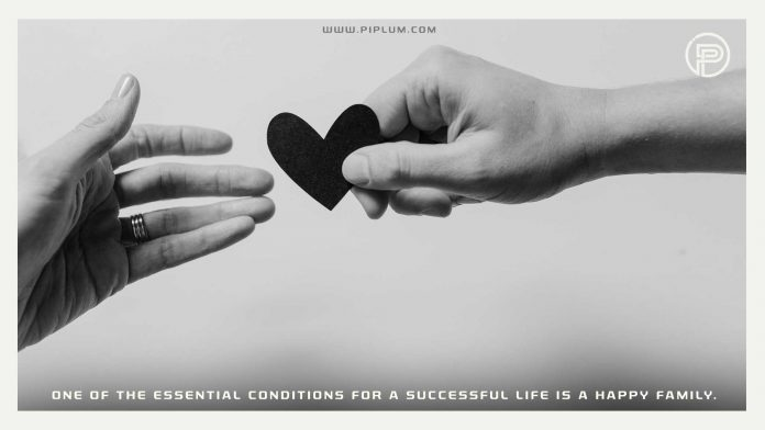 One-of-the-essential-conditions-for-a-successful-life-is-a-happy-family-Inspirational-Love-Quote