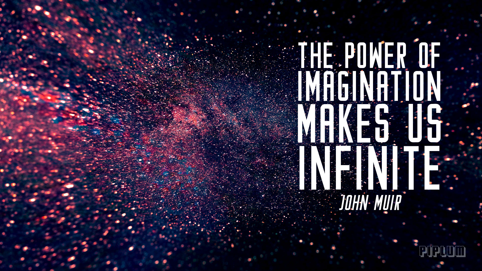 The Power Of Imagination Makes Us Infinite Inspirational Quote