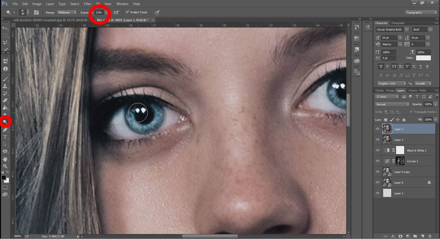 face retouching tutorial