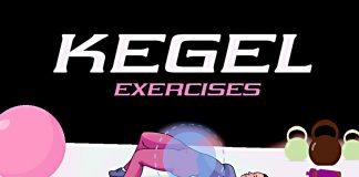 Kegel-exercises-for-women-infographic.-women-doing-pregancy-workout-in-the-background