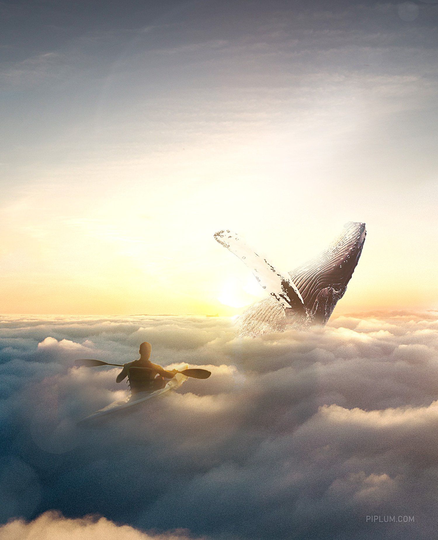 surreal-world.-Whale-in-the-sky. life quotes