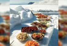 nordic diet in scandinavia viking food on ice