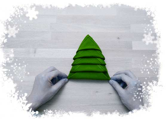 Christmas-tree-folding-tutorial-Hide-lower-layers-tips-underneath-the-upper-folds-Step-5b.