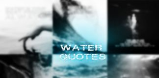 Water-quotes