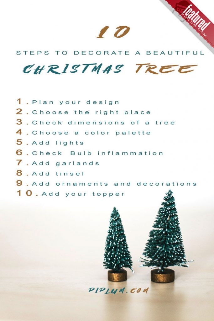 10-Steps-to-decorate-a-beautiful-christmas-tree.-DIY-Poster.
