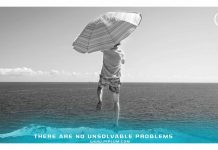 man-jump-cliff-umbrella-There-Are-No-Unsolvable-Problems-Inspirational-Quote