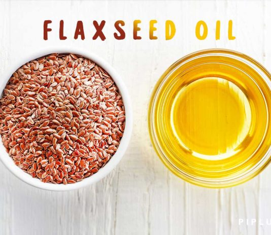 flaxseed-oil-placed-on-the-table