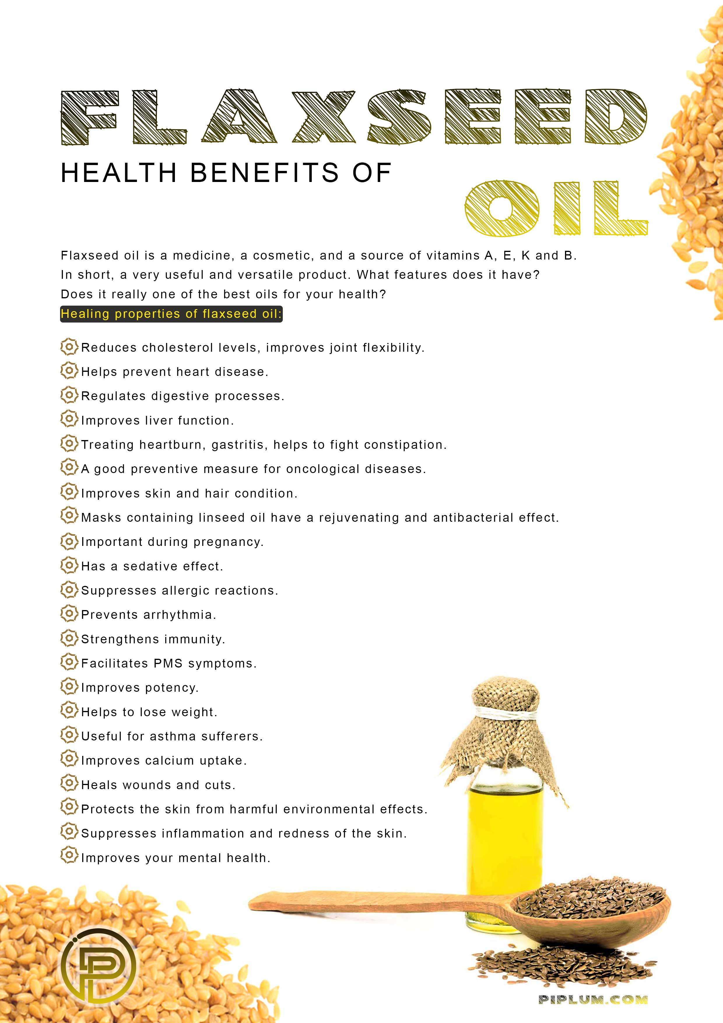 Health-benefits-of-flaxseed-oil.-Healing-properties.