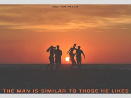 The-man-is-similar-to-those-he-likes-inspirational-quote-for-friends