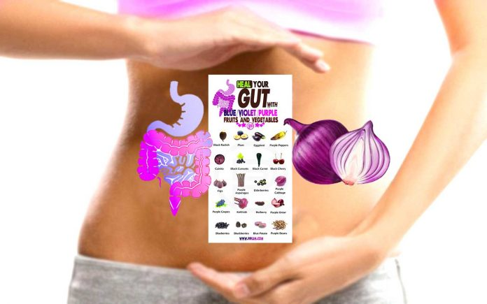 food-that-healts-gut.-Women-holds-a-list-to-heal-gut.