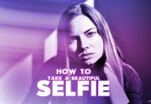 A-beautiful-girl-selfie-with-purple-filter-instagram-and-celebrities-look