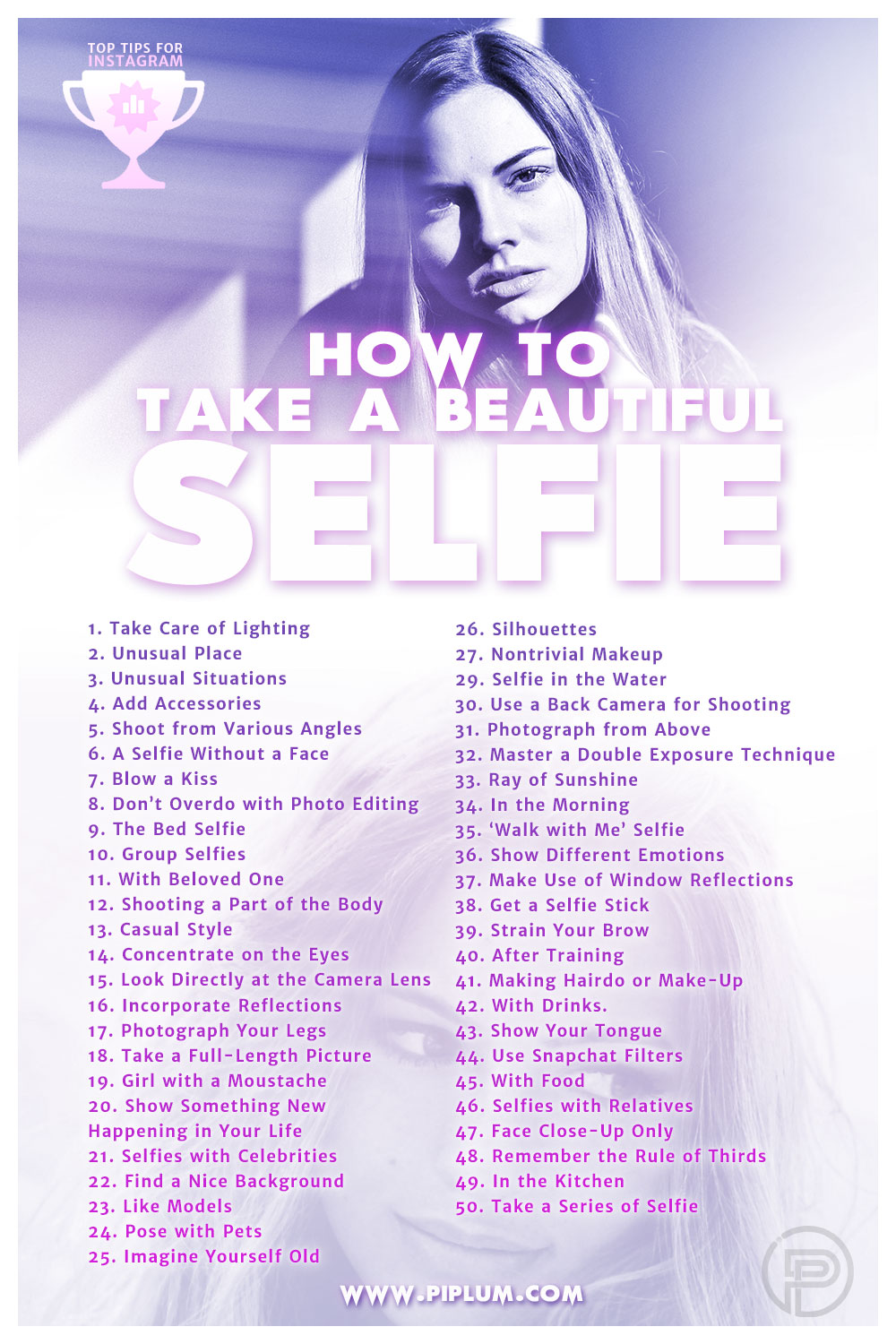 Top-rated-selfie-ideas-for-Instagram-and-other-social-networks-printable-poster-list