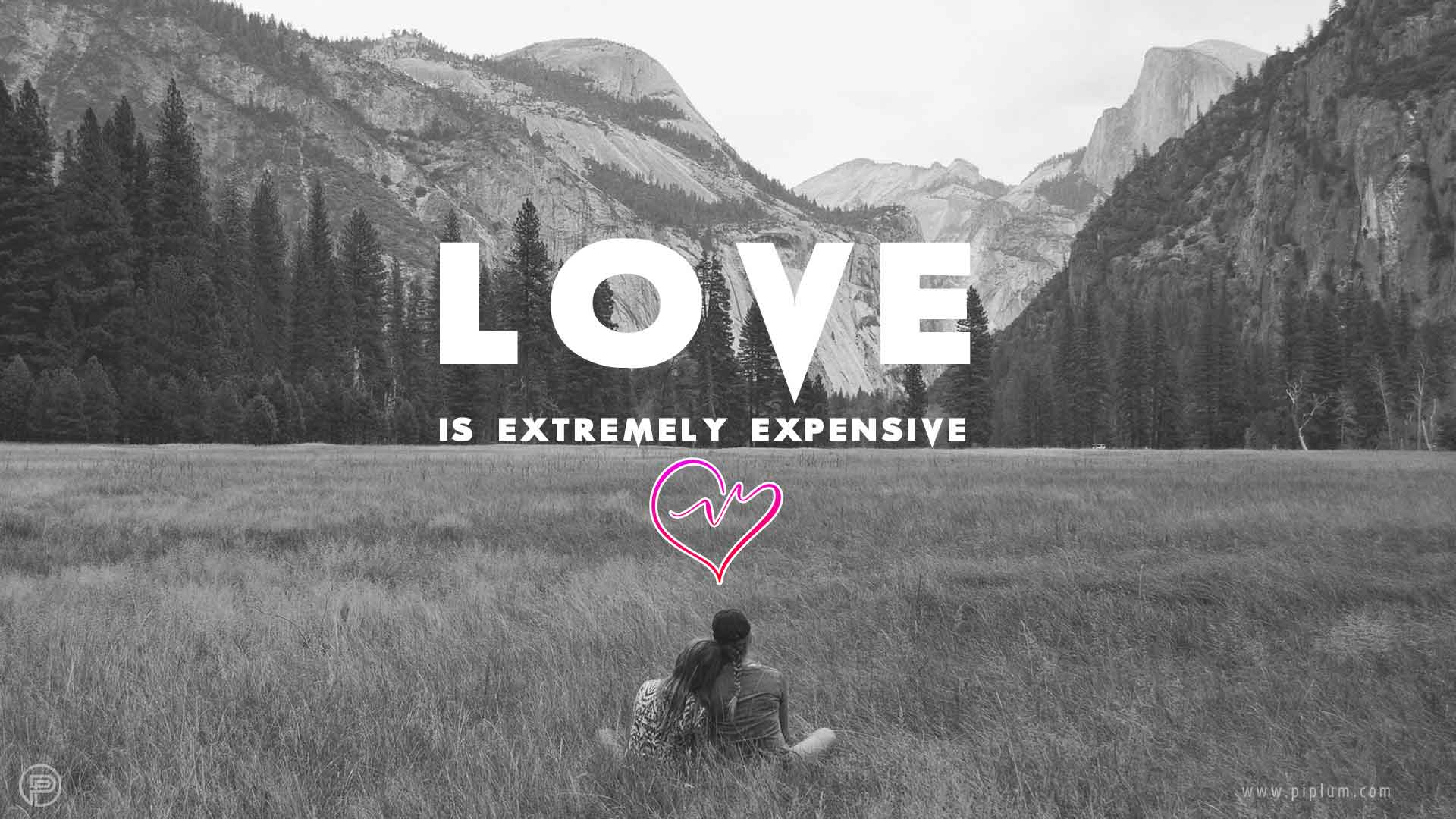 Love-Is-Extremely-Expensive-famous-saying-quote
