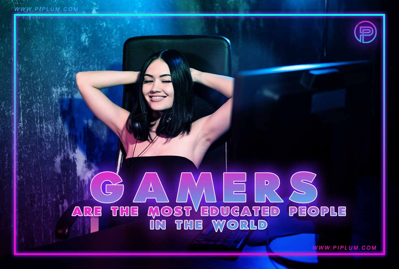 Gamers are the most educated people in the world. Funny gaming quote.