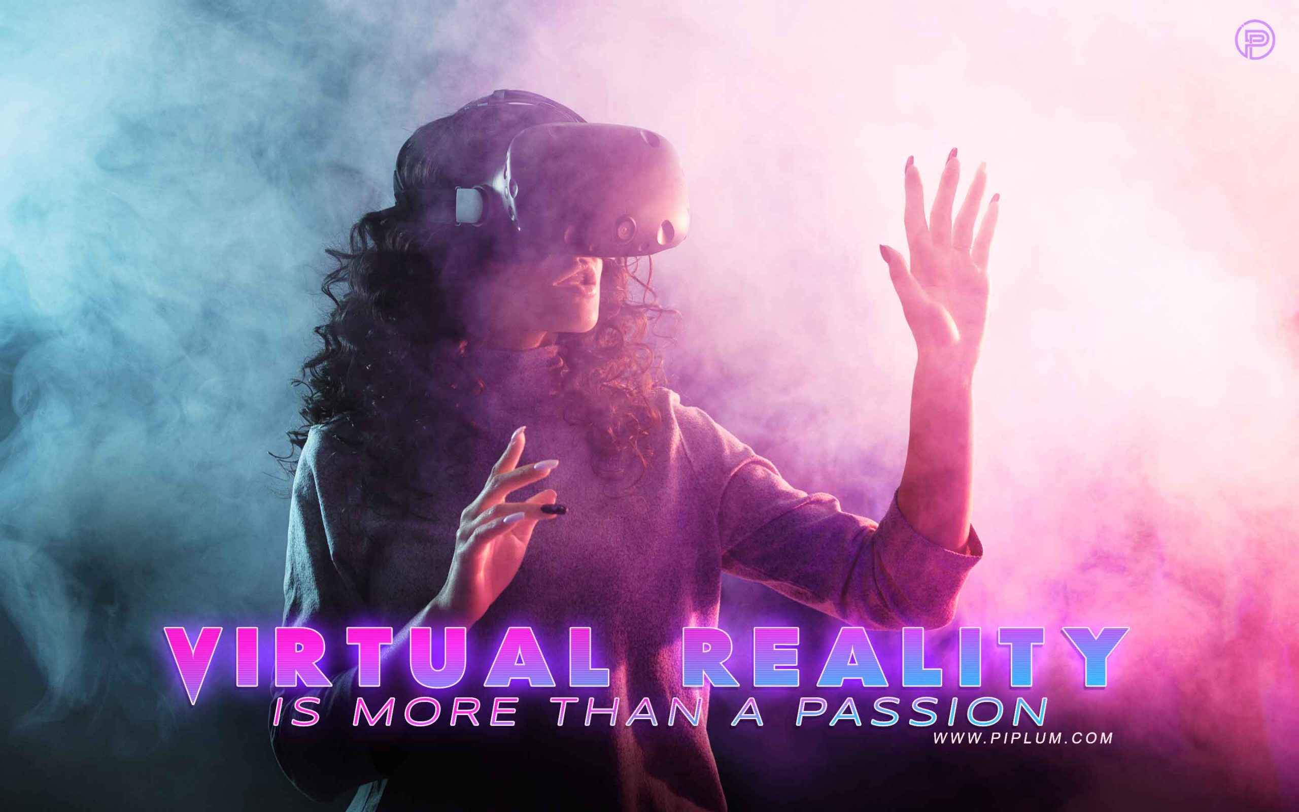 Virtual reality is more than a passion... Inspirational gaming quote.
