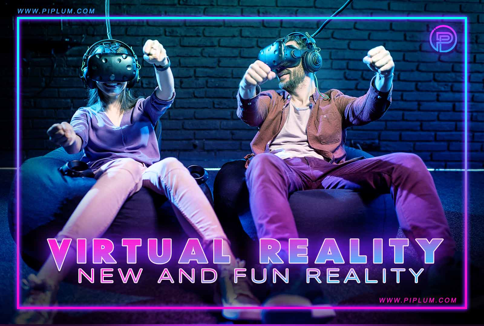 Virtual reality is a new and fun reality. Gaming quote for true gamers.