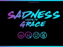 What does grief and sadness do to us Quote about sadness