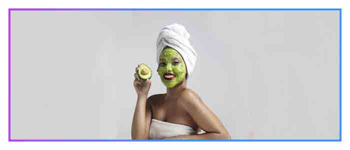 Avocados are suitable for any skin and hair type
