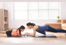 Mom-and-child-doing-Free-Workout-Program-At-Home-With-No-Equipment-Required-for-family