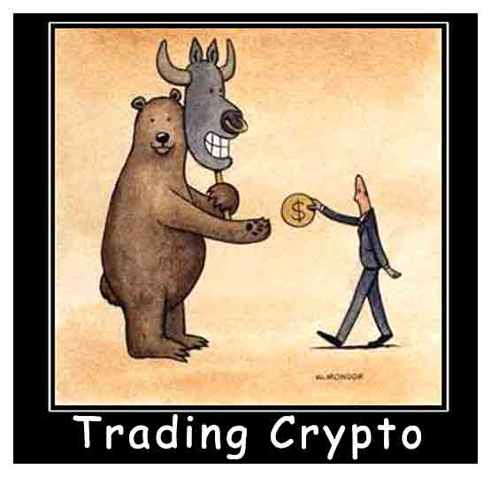 Trading crypto is not as predictable as you think. Funny crypto bear rules.