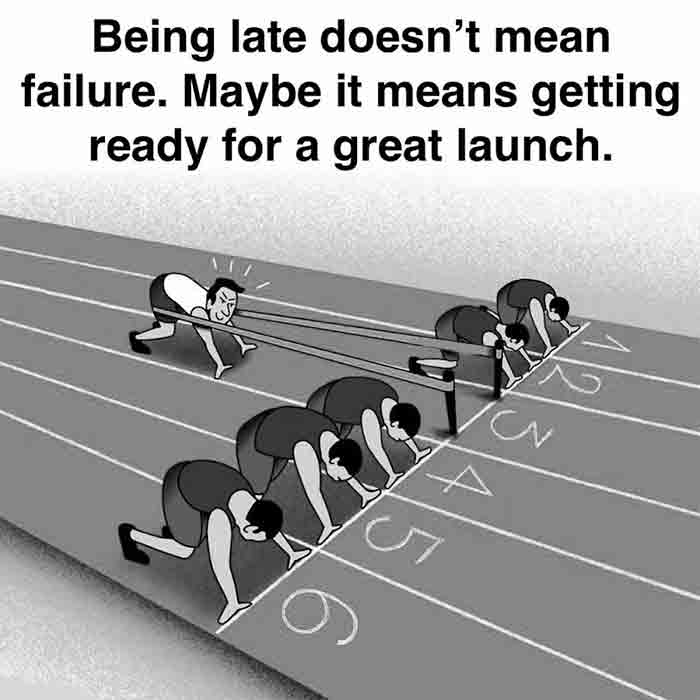 Being-late-is-not-a-failure-motivational-quote