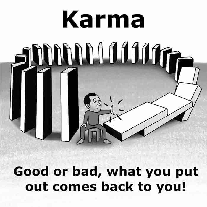 Motivational-Karma-Quote-domino-effect
