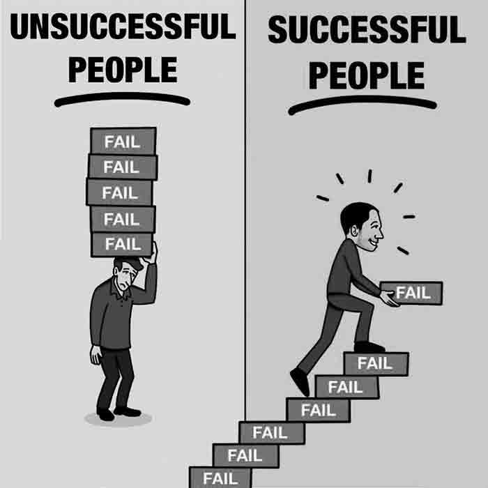 Successful-and-unsuccessful-people-Motivational-Image-about-dealing-with-fails